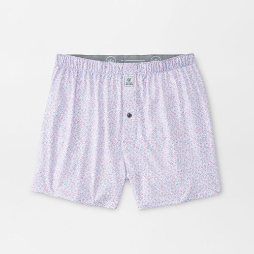 peter-millar-stars-performance-boxer-white Available online or in store at assembly88 men's shop in Allentown, PA
