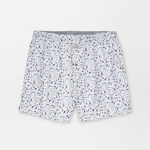 peter-millar-maple-performance-boxer-short-white Available online or in store at assembly88 men's shop in Allentown, PA