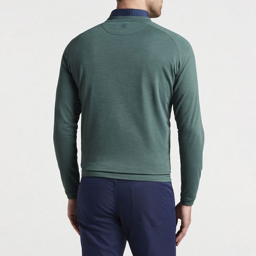 peter-millar-cradle-performance-crewneck-nordic-pine Available online or in store at assembly88 men's shop in Allentown, PA