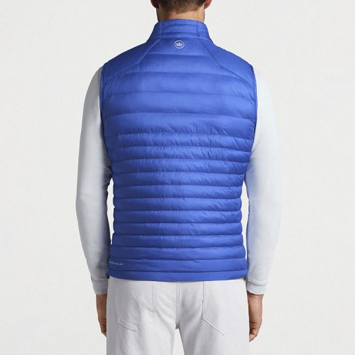 peter-millar-hyperlight-quilted-vest-true-blue Available online or in store at assembly88 men's shop in Allentown, PA