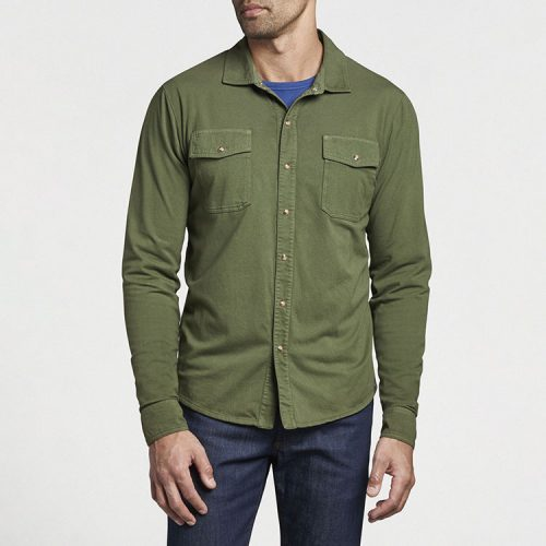 peter-millar-lava-wash-shirt-jacket-olive-leaf Available online or in store at assembly88 men's shop in Allentown, PA