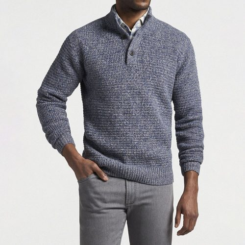 peter-millar-textured-three-button-mock-astral-blue Available online or in store at assembly88 men's shop in Allentown, PA