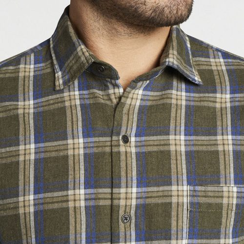 peter-millar-pointe-claire-cotton-sport-shirt-olive-leaf Available online or in store at assembly88 men's shop in Allentown, PA