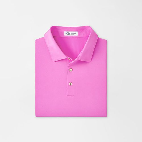 peter-millar-solid-performance-polo-guava-pink Available online or in store at assembly88 men's shop in Allentown, PA