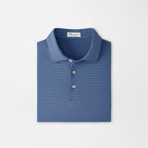 peter-millar-jubilee-stripe-performance-polo-navy-sp21 Available online or in store at assembly88 men's shop in Allentown, PA