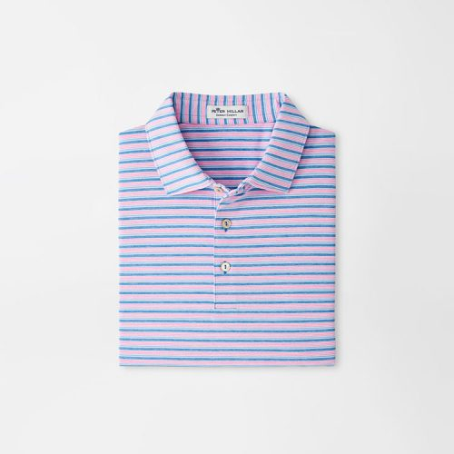 peter-millar-green-performance-jersey-polo-blue-river Available online or in store at assembly88 men's shop in Allentown, PA