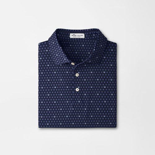 peter-millar- seeing-double-performance-jersey-polo-navy Available online or in store at assembly88 men's shop in Allentown, PA