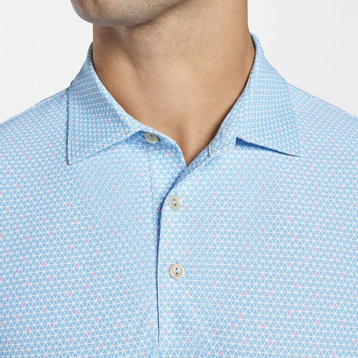 peter-millar-market-performance-mesh-polo-wave-break Available online or in store at assembly88 men's shop in Allentown, PA