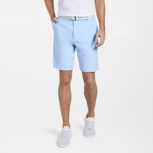 peter-millar-shackleford-performance-hybrid-short-cottage-blue Available online or in store at assembly88 men's shop in Allentown, PA