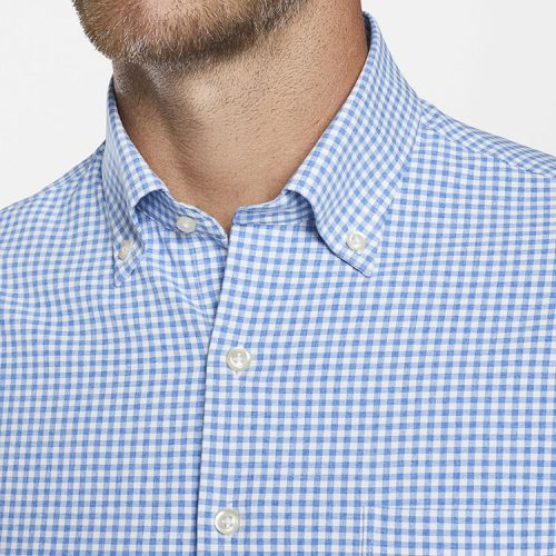peter-millar-willie-performance-sport-shirt-deep-ocean available online or in store at assembly88 men's store in Allentown, PA.