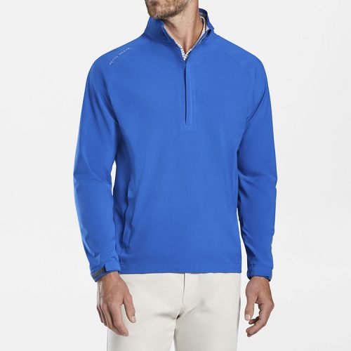 peter-millar-hyperlight-shield-half-zip-deep-ocean Available online or in store at assembly88 men's shop in Allentown, PA