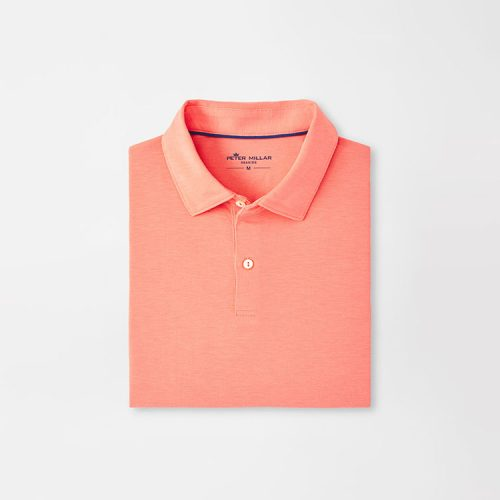 peter-millar-drirelease-natural-touch-polo-wild-salmon Available online or in store at assembly88 men's shop in Allentown, PA