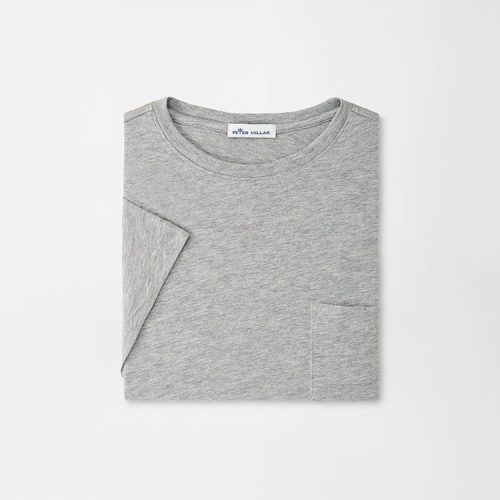 peter-millar-summer-soft-pocket-tee-coastal-grey Available online or in store at assembly88 men's shop in Allentown, PA