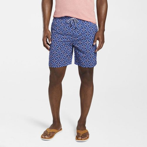 peter-millar-mojito-mosaic-swim-trunk-atlantic-blue Available online or in store at assembly88 men's shop in Allentown, PA