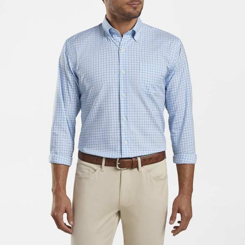 peter-millar-crown-ease-platte-sport-shirt-porcelain available online or in store at assembly88 men's store in Allentown, PA.