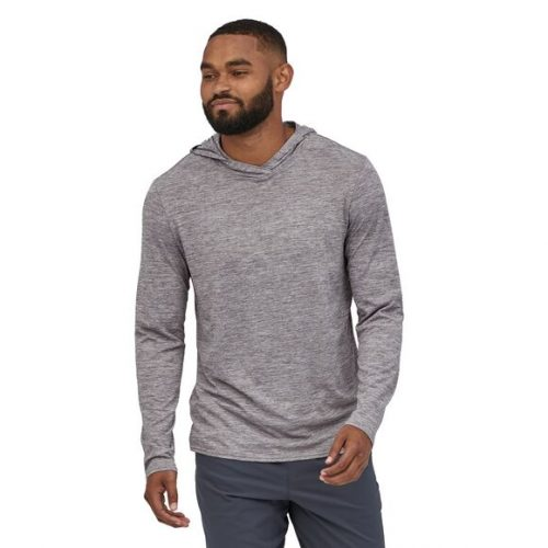 patagonia-capilene-cool-daily-hoody-feather-grey Available online or in store at assembly88 men's shop in Allentown, PA