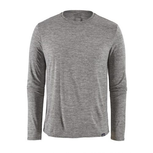patagonia-long-sleeved-capilene-cool-daily-shirt-feather-grey Available online or in store at assembly88 men's shop in Allentown, PA