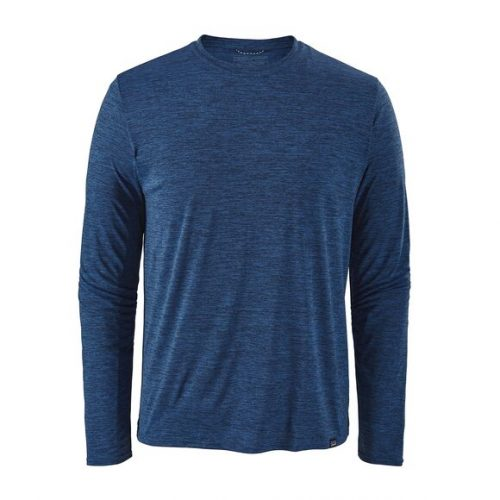 patagonia-long-sleeved-capilene-cool-daily-shirt-viking-blue-navy-blue Available online or in store at assembly88 men's shop in Allentown, PA