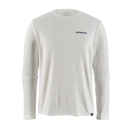 patagonia-long-sleeved-capilene-cool-daily-graphic-shirt-white Available online or in store at assembly88 men's shop in Allentown, PA