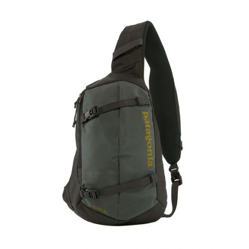 patagonia-atom-sling-8l-Forge-Grey-Textile-Green Available online or in store at assembly88 men's shop in Allentown, PA
