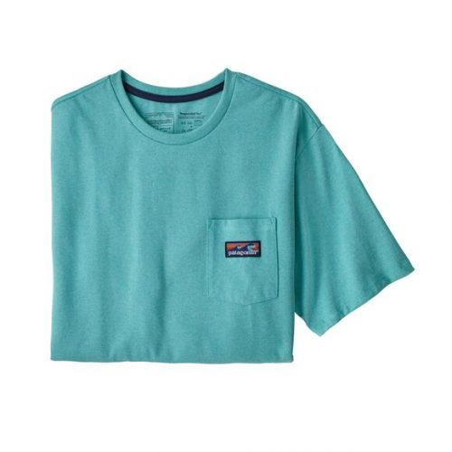 patagonia-boardshort-label-pocket-responsibili-tee-iggy-blue Available online or in store at assembly88 men's shop in Allentown, PA