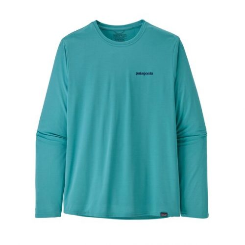 patagonia-long-sleeved-capilene-cool-daily-graphic-shirt-iggy-blue Available online or in store at assembly88 men's shop in Allentown, PA