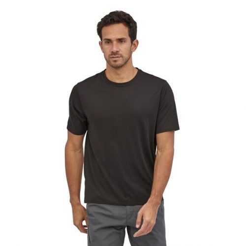 patagonia-capilene-cool-daily-shirt-black Available online or in store at assembly88 men's shop in Allentown, PA
