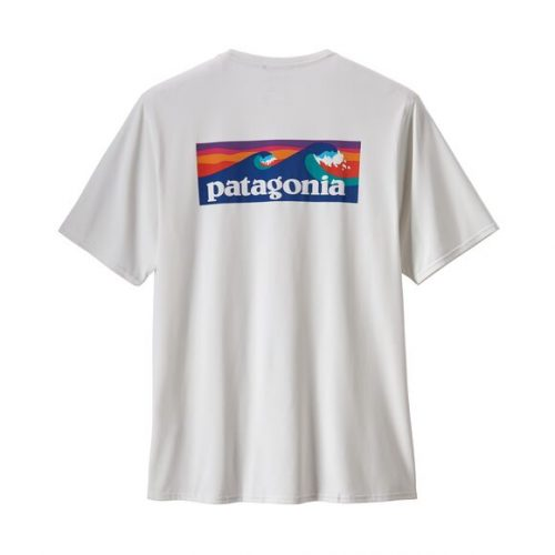 patagonia-capilene-cool-daily-graphic-shirt-boardshort-logo-white Available online or in store at assembly88 men's shop in Allentown, PA