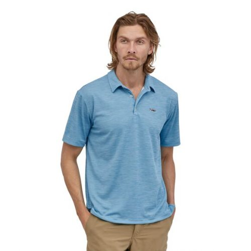 patagonia-sunshade-polo-tarpon-fitz-roy-lago-blue Available online or in store at assembly88 men's shop in Allentown, PA