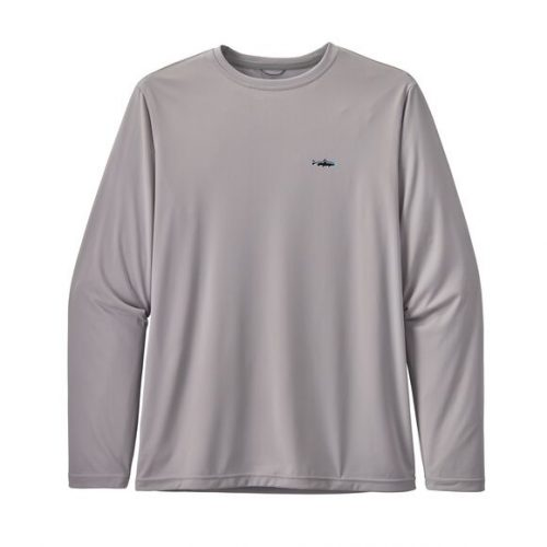 patagonia-long-sleeved-capilene-cool-fish-graphic-shirt-salt-grey Available online or in store at assembly88 men's shop in Allentown, PA