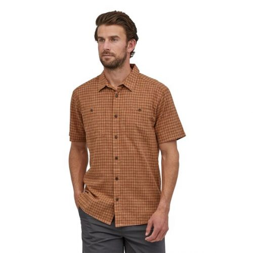 patagonia-back-step-shirt-henna-brown Available online or in store at assembly88 men's shop in Allentown, PA