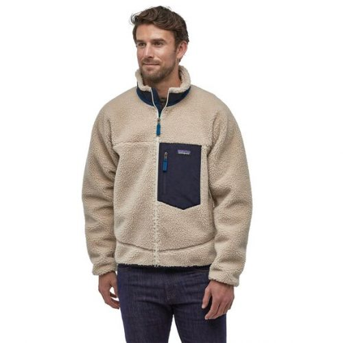 patagonia-classic-retro-x-fleece-jacket-natural Available online or in store at assembly88 men's shop in Allentown, PA