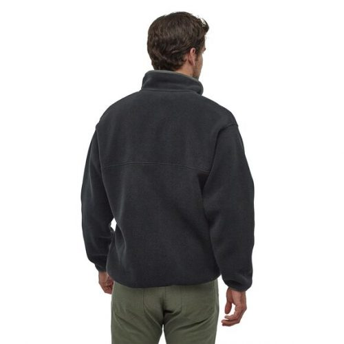 patagonia-synchilla-snap-t-fleece-pullover-black-w-forge-grey Available online or in store at assembly88 men's shop in Allentown, PA