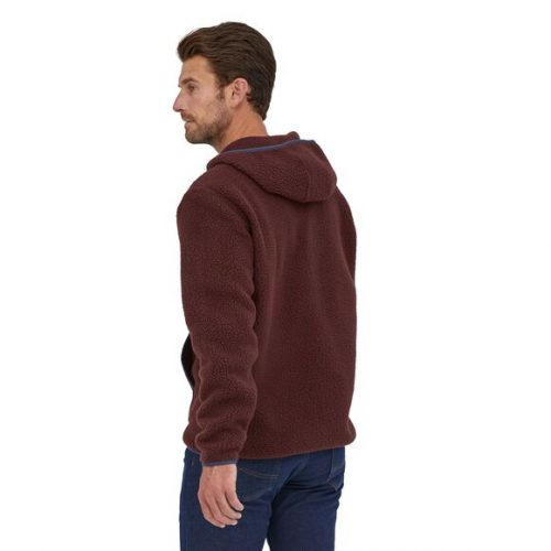 patagonia-retro-pile-fleece-pullover-dark-ruby Available online or in store at assembly88 men's shop in Allentown, PA