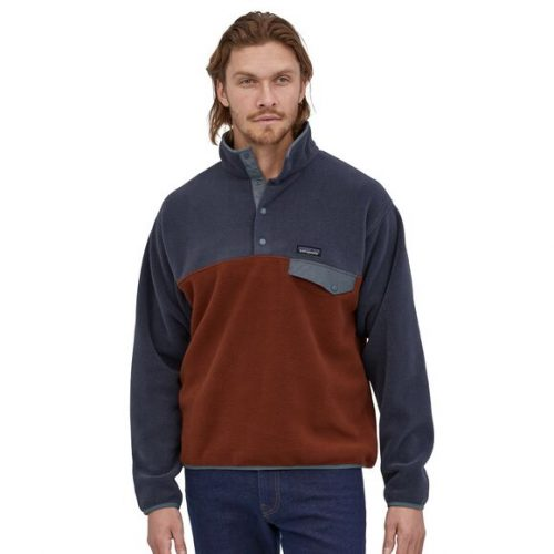 patagonia-lightweight-synchilla-snap-t-fleece-pullover-fox-red Available online or in store at assembly88 men's shop in Allentown, PA