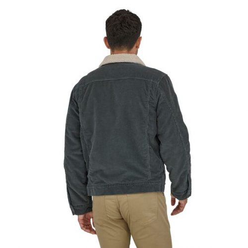 patagonia-pile-lined-trucker-jacket-forge-grey Available online or in store at assembly88 men's shop in Allentown, PA