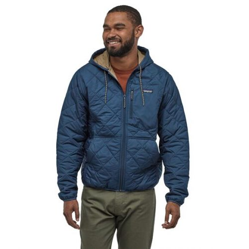 patagonia-diamond-quilted-bomber-hoody-stone-blue Available online or in store at assembly88 men's shop in Allentown, PA