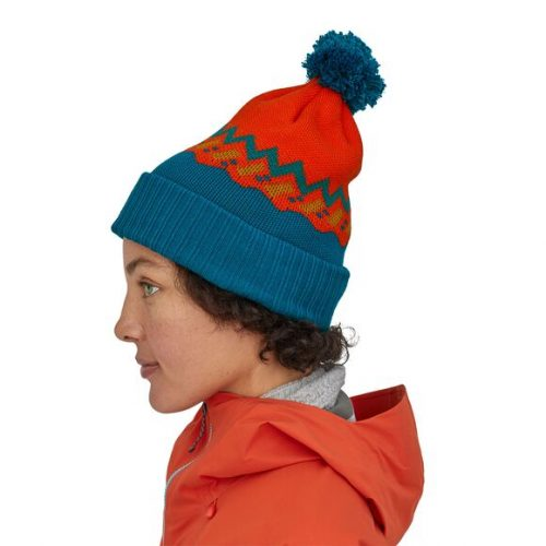patagonia-powder-town-beanie-lofoten-geo-knit-paintbrush-red Available online or in store at assembly88 men's shop in Allentown, PA