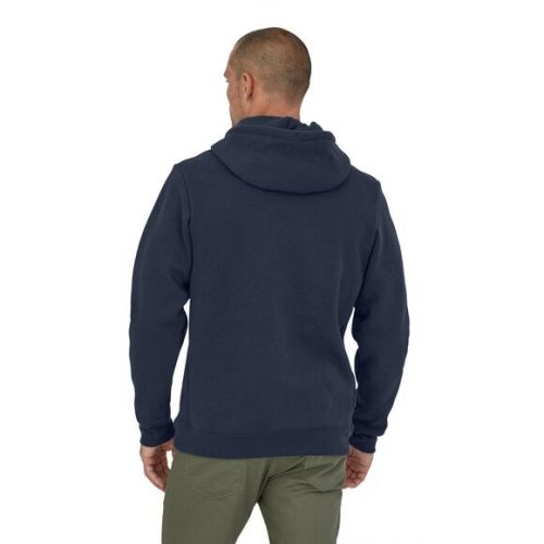 patagonia-p-6-label-uprisal-hoody-new-navy Available online or in store at assembly88 men's shop in Allentown, PA