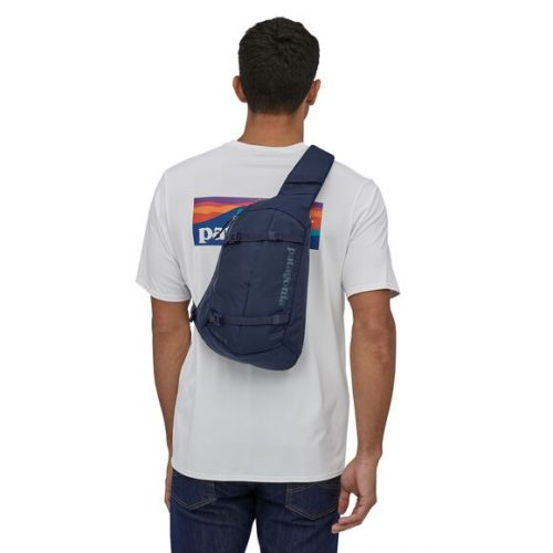 patagonia-atom-sling-8l-classic-navy-w-classic-navy Available online or in store at assembly88 men's shop in Allentown, PA