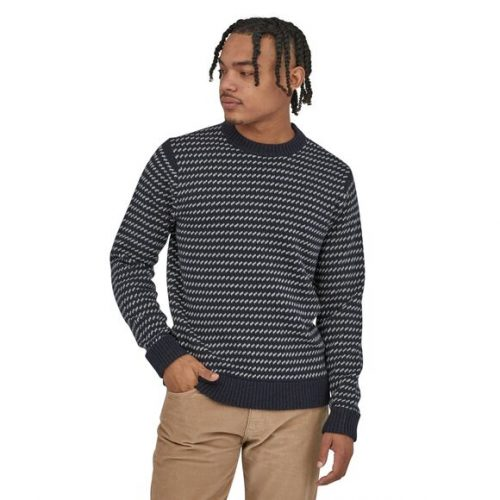 patagonia-recycled-wool-sweater-classic-navy Available online or in store at assembly88 men's shop in Allentown, PA
