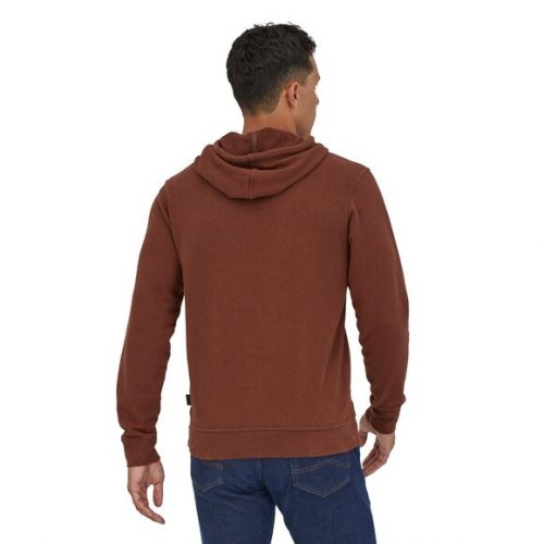 patagonia-trail-harbor-hoody-fox-red Available online or in store at assembly88 men's shop in Allentown, PA
