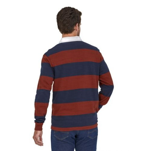 patagonia-long-sleeved-lightweight-rugby-shirt-og-rugby-barn-red Available online or in store at assembly88 men's shop in Allentown, PA