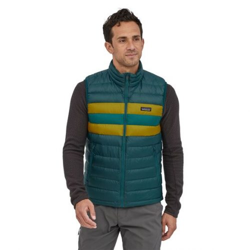 patagonia-down-sweater-vest-dark-borealis-green Available online or in store at assembly88 men's shop in Allentown, PA