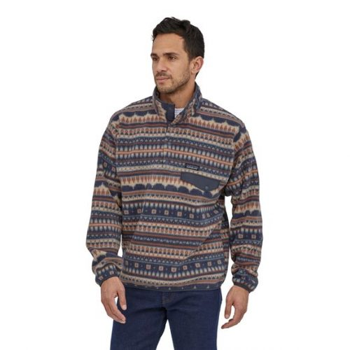 Patagonia-Lightweight-Synchilla-Snap-TFleece-Pullover-Cottage-Isle Available online or in store at assembly88 men's shop in Allentown, PA