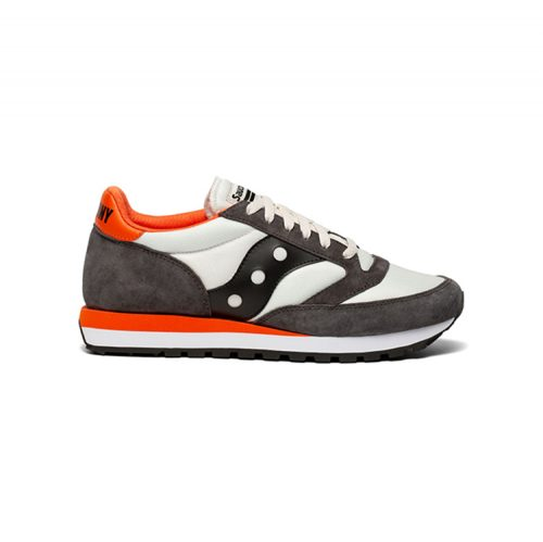 saucony-jazz-81-black-white-orange-mens-sneakers Available online or in store at assembly88 men's shop in Allentown, PA