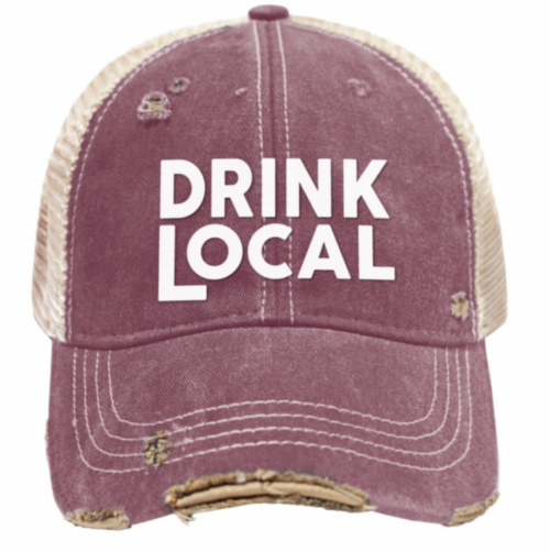 retro-brand-drink-local-vintage-snap-back-trucker-cap Available online or in store at assembly88 men's shop in Allentown, PA
