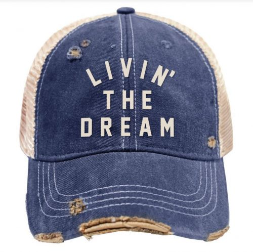retro-brand-livin-the-dream-vintage-snap-back-trucker-cap Available online or in store at assembly88 men's shop in Allentown, PA
