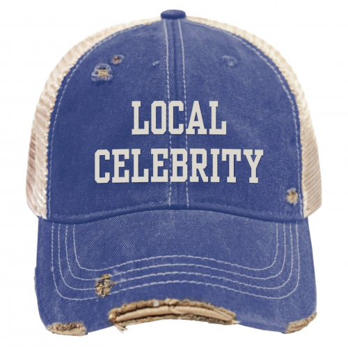 retro-brand-local-celebrity-snap-back-trucker-cap Available online or in store at assembly88 men's shop in Allentown, PA