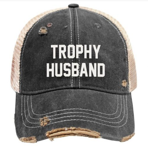 Retro-Brand-Trophy-Husband-Tea-Washed-Snap-Back-Trucker-Cap Available online or in store at assembly88 men's shop in Allentown, PA